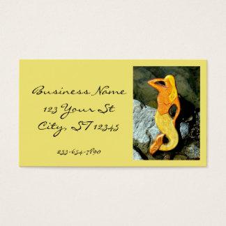 Cartão De Visitas sereia loura da vigia
