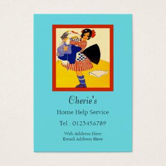 Cartão De Visitas Serviço da ajuda Home