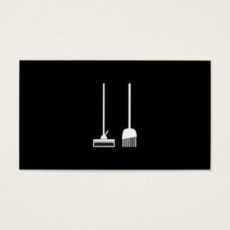 Cartão De Visitas Serviço da limpeza