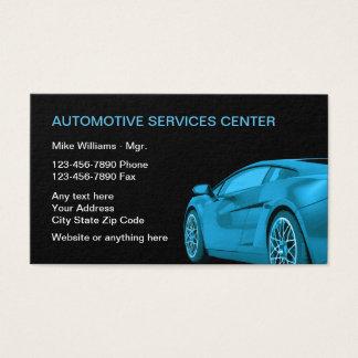 Cartão De Visitas Serviços a empresas automotrizes legal