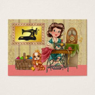 Cartão De Visitas Sewing/costureira/forma - SRF