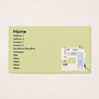 Cartão De Visitas Sewing - negócio