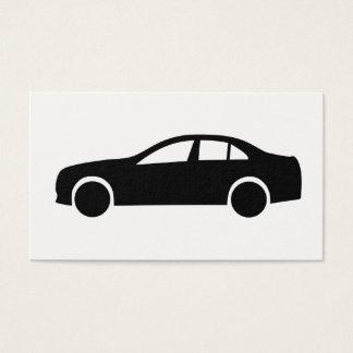 Cartão De Visitas Silhueta da limusina