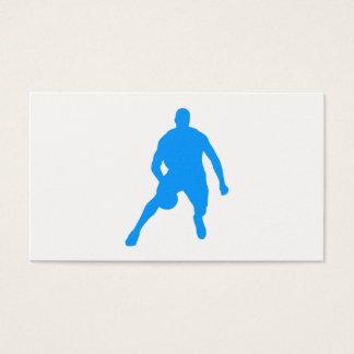 Cartão De Visitas Silhueta do basquetebol