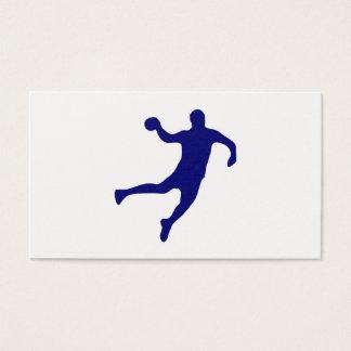 Cartão De Visitas Silhueta do handball