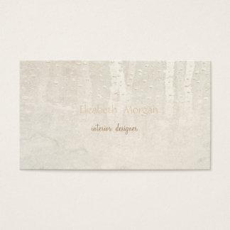 Cartão De Visitas Simples minimalista moderno, pingos de chuva