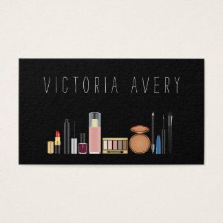 Cartão De Visitas Simples modernos compo o artista