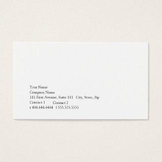 Cartão De Visitas Simplicidade