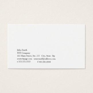 Cartão De Visitas Simplicidade V