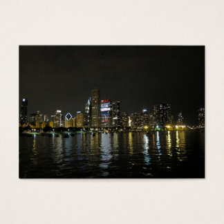 Cartão De Visitas Skyline de Chicago