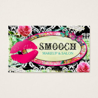 Cartão De Visitas Smooch gasto do encanto do vintage do GC