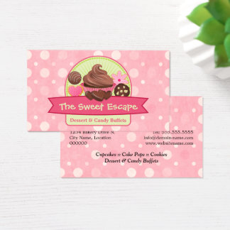 Cartão De Visitas Sobremesas doces