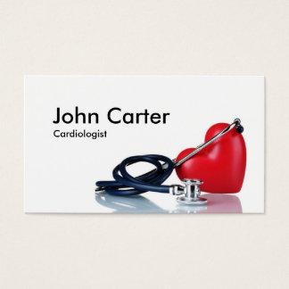 Cartão De Visitas Socorros da clínica do médico de família do