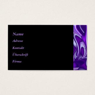 Cartão De Visitas Sonho roxo