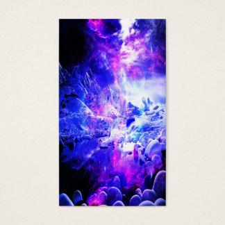 Cartão De Visitas Sonhos Amethyst da noite de Yule