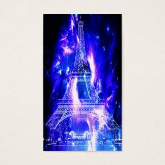 Cartão De Visitas Sonhos Amethyst de Paris da safira