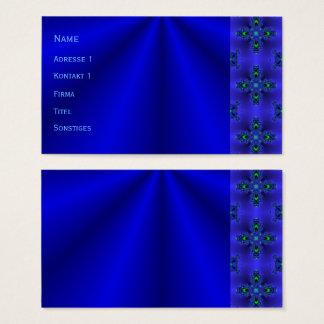 Cartão De Visitas Sonhos azuis