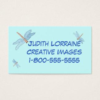 Cartão De Visitas sonhos da libélula