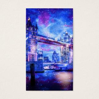 Cartão De Visitas Sonhos da Londres do amante