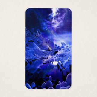 Cartão De Visitas Sonhos da noite de Yule