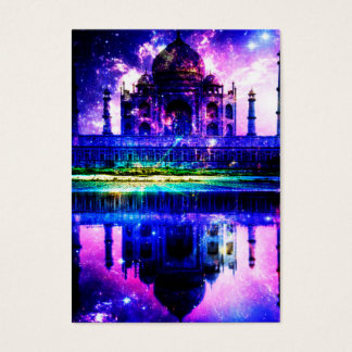 Cartão De Visitas Sonhos iridescentes de Taj Mahal