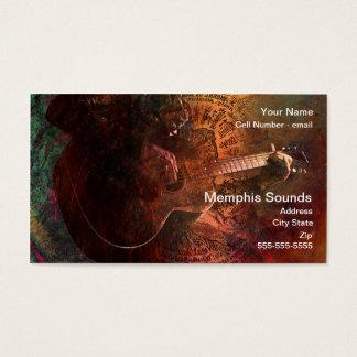 Cartão De Visitas Sons de Memphis