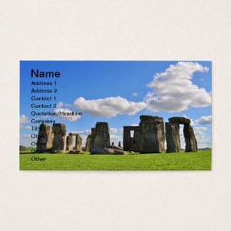 Cartão De Visitas Stonehenge 12