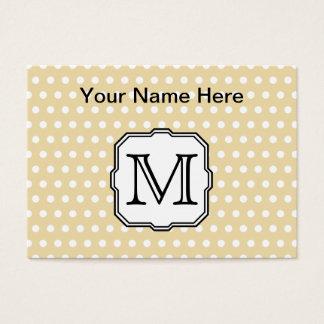 Cartão De Visitas Sua letra. Monograma feito sob encomenda. Ponto de