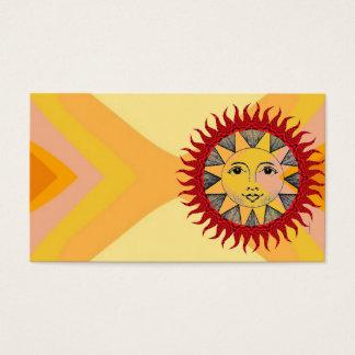 Cartão De Visitas Sun de sorriso