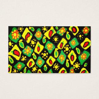 Cartão De Visitas Sun e pimentas