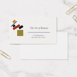 Cartão De Visitas Suprematism por Kazimir Malevich