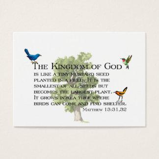 Cartão De Visitas Sussurros da bondade e do reino