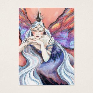 Cartão De Visitas Tag do presente do Titania da rainha