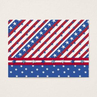 Cartão De Visitas Tag referente à cultura norte-americana do