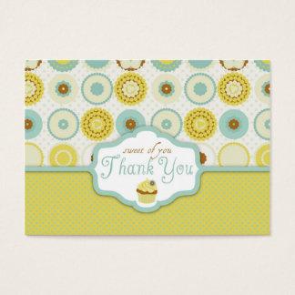 Cartão De Visitas Tag retro doce do presente de TY