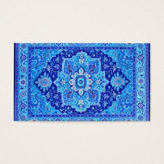 Cartão De Visitas TAPETE PERSA - azul
