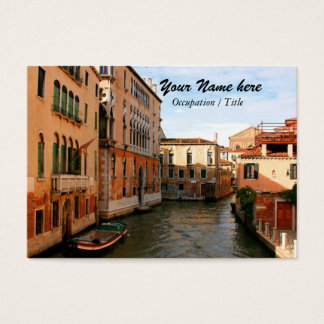 Cartão De Visitas Tarde dourada