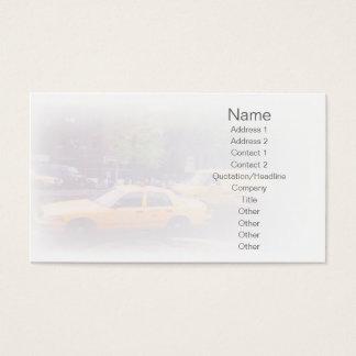 Cartão De Visitas Táxi