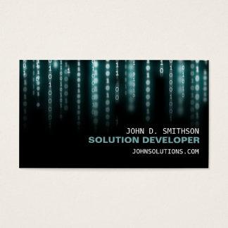 Cartão De Visitas Tecnologia Wiz