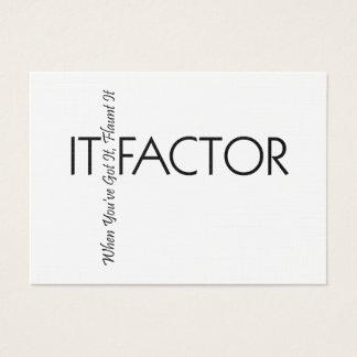 Cartão De Visitas TEE o fator