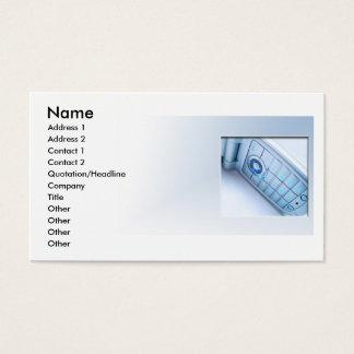 Cartão De Visitas Telefone sem fios