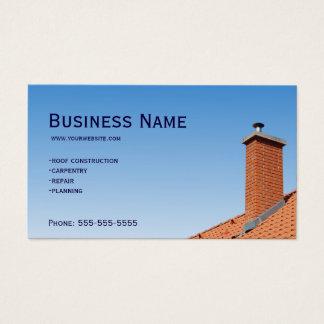 Cartão De Visitas Telhado do carpinteiro
