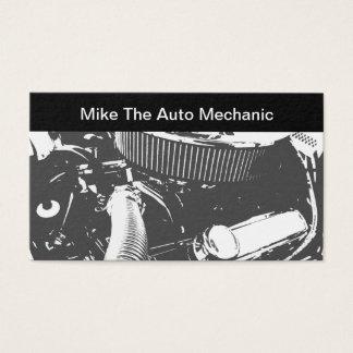 Cartão De Visitas Tema do auto mecânico