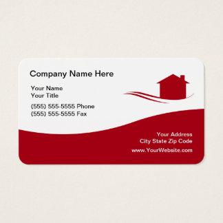 Cartão De Visitas Tema legal dos bens imobiliários