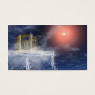 Cartão De Visitas Templo na montanha