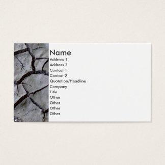 Cartão De Visitas Terra Parched