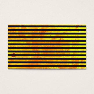Cartão De Visitas Teste padrão ambarino das listras do fundo |