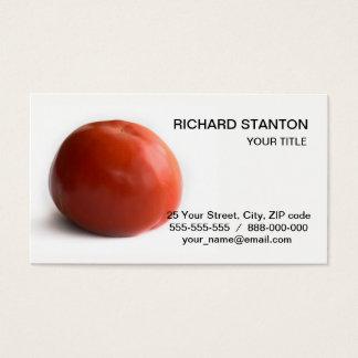 Cartão De Visitas Tomate maduro