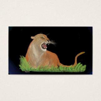 Cartão De Visitas totem - puma