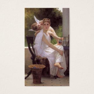 Cartão De Visitas Trabalho interrompido, William-Adolphe Bouguereau